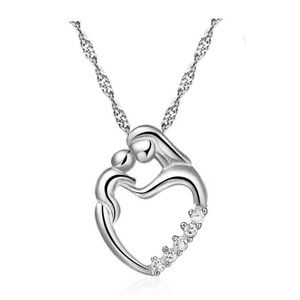 Jewelry - New Mother and Child Heart Shaped Necklace